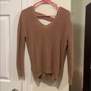🍂🍁 3 for $25 open back sweater 🍂🍁